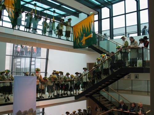 15 Jahre Deutsche Einheit SMZ in Landesvertretung  03.10.2005 auf Galerie